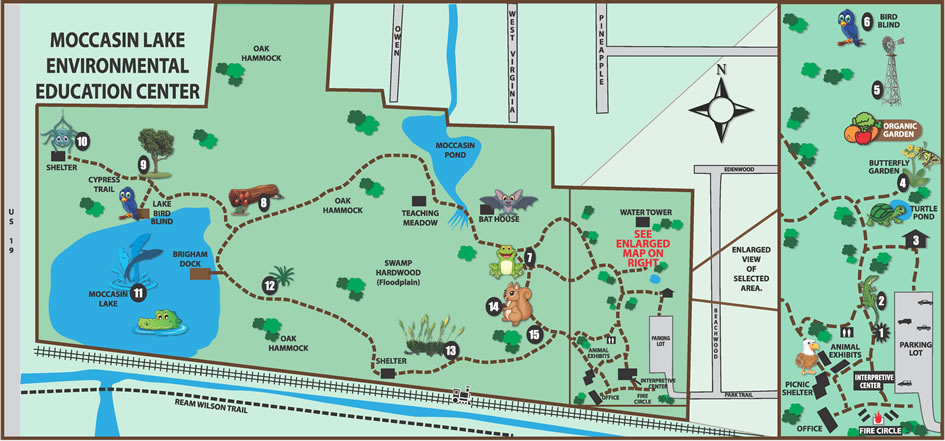 Map Of Clearwater Florida.Moccasin Lake Map Clearwater Fl Parks And Recreation